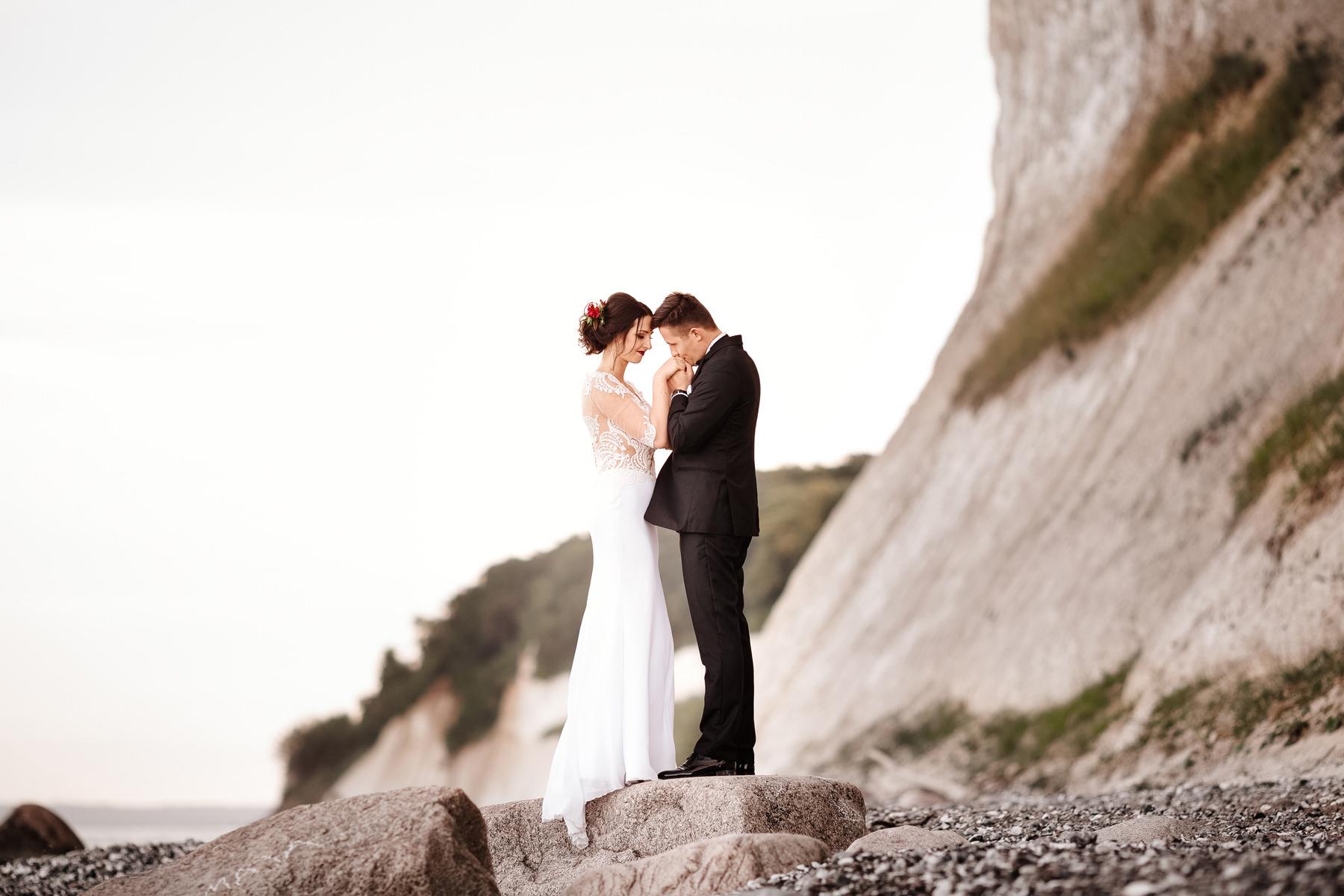 przysięga ślubna nad morzem