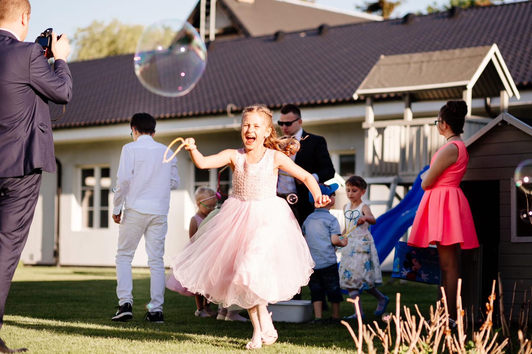 biala wstazka wesele