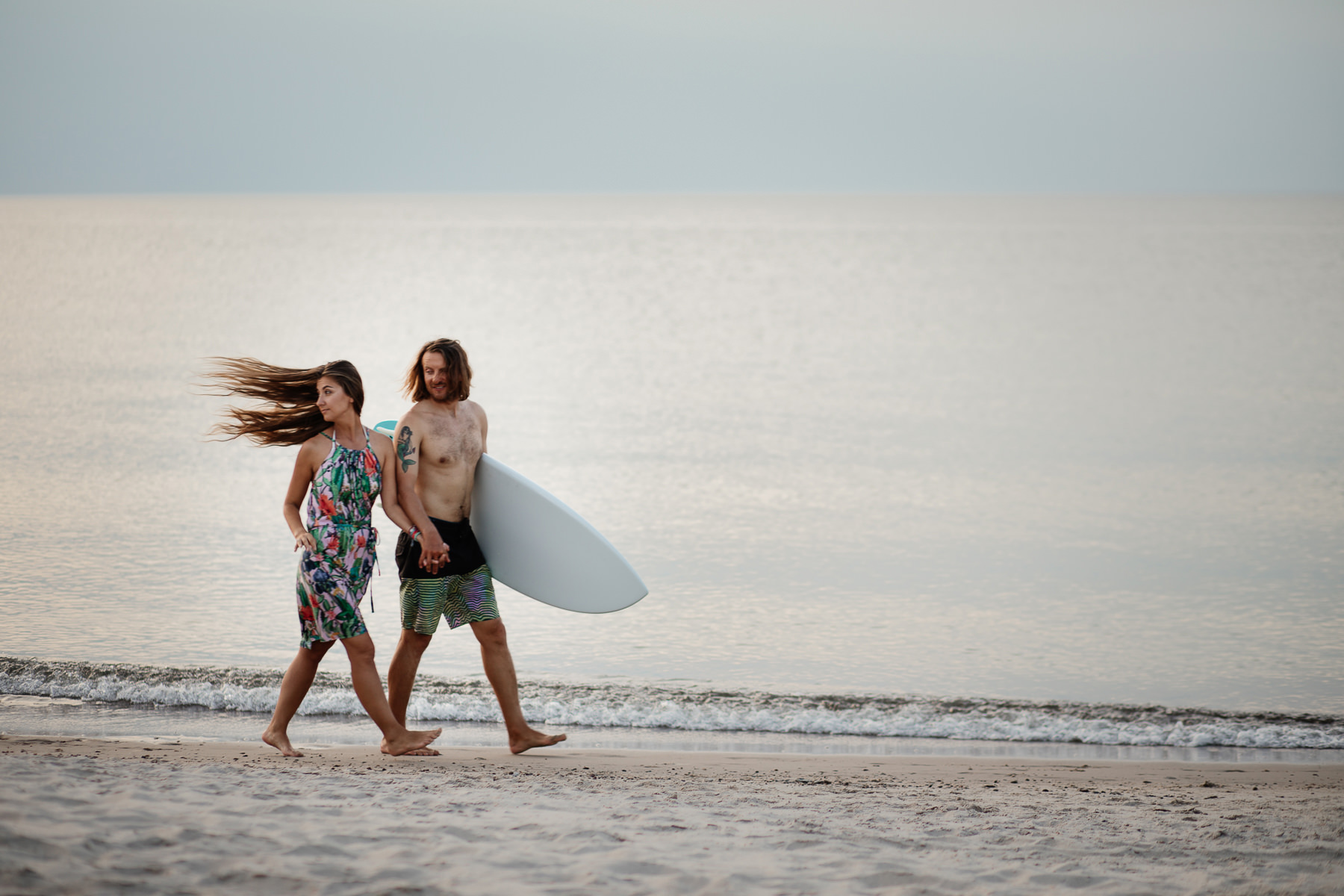 surfing nad bałtykiem