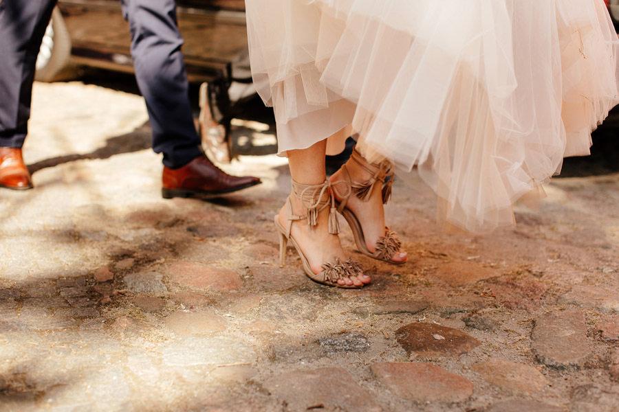 buty panny młodej w stylu boho