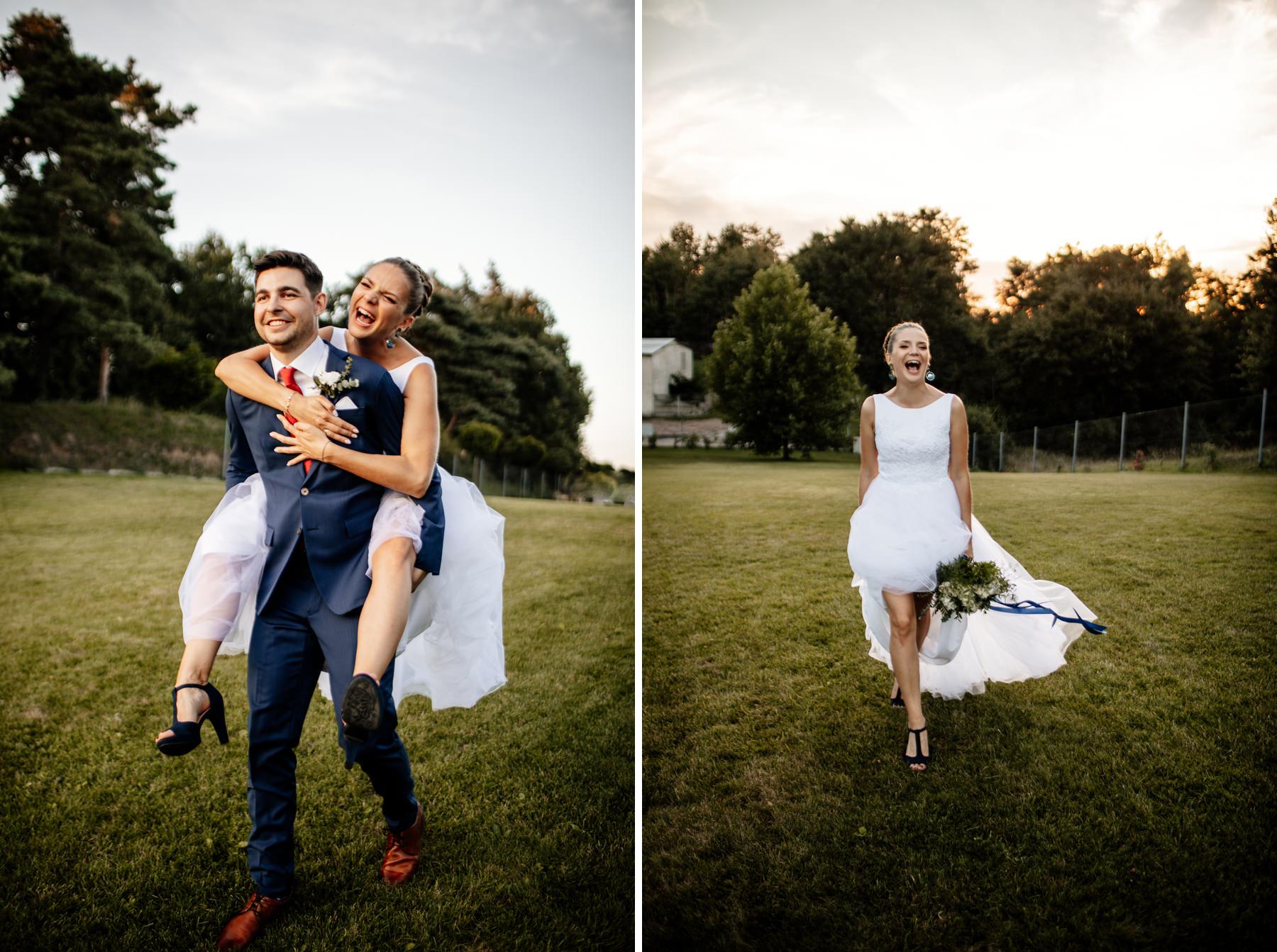 biała wstążka czepino wesele