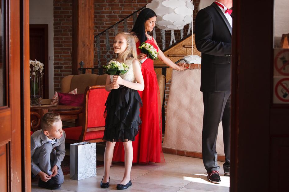 ślub dworek nad regą