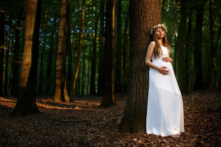 naturalna sesja ślubna
