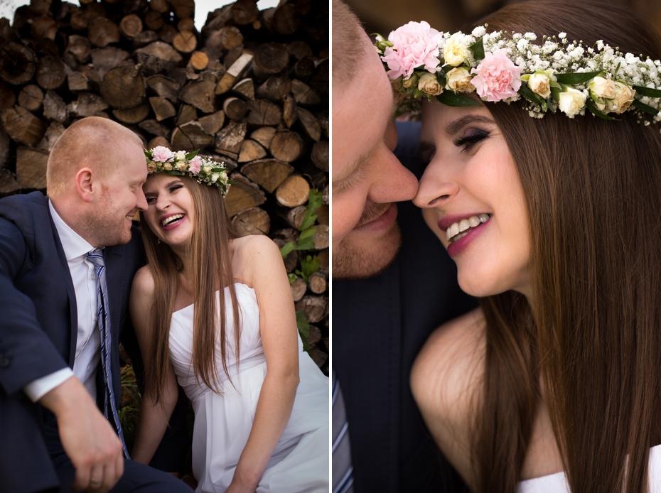 ślub diy w ogrodzie szczecin