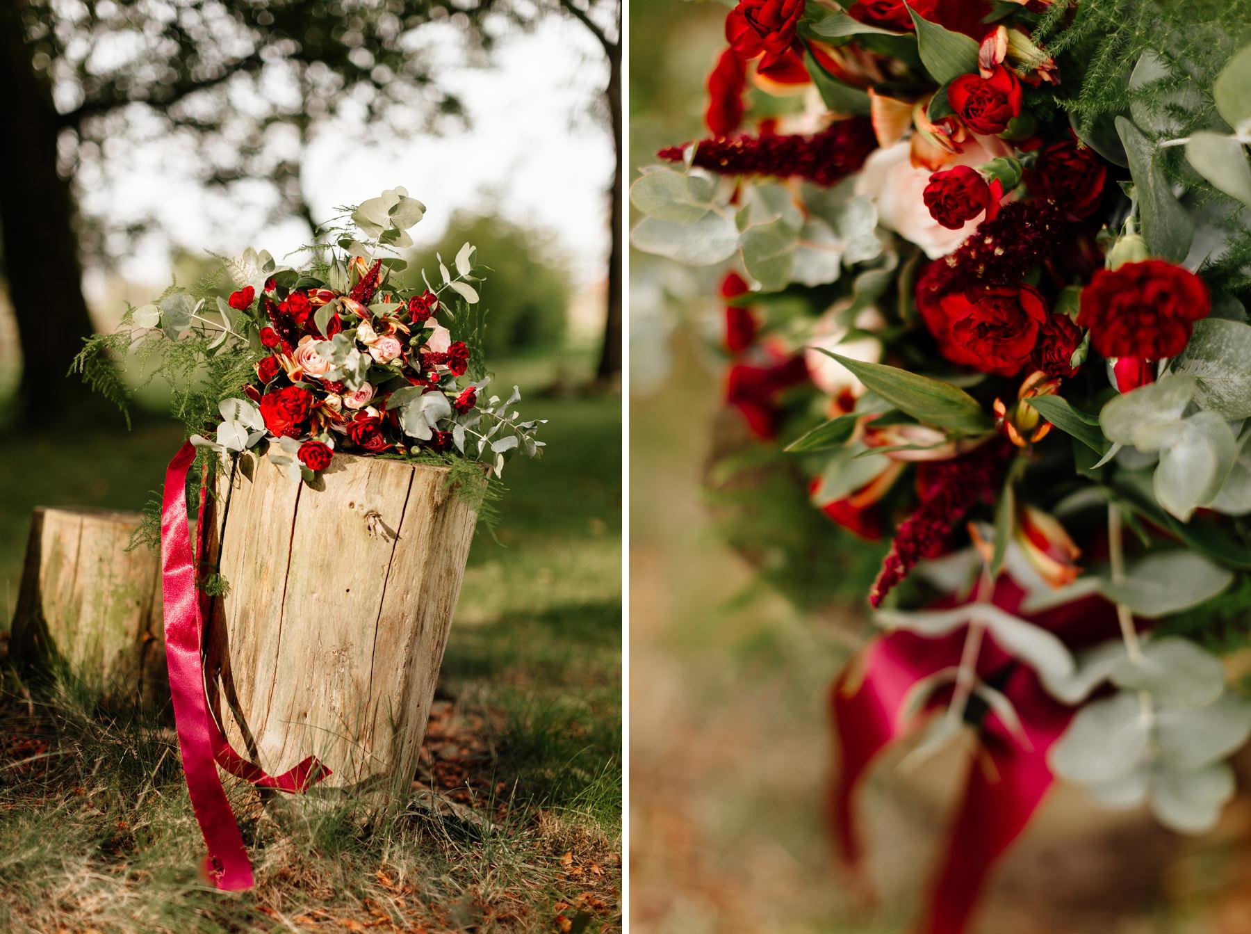 kwiaty na sesję narzeczeńską, kwiaciarnia sempreverde