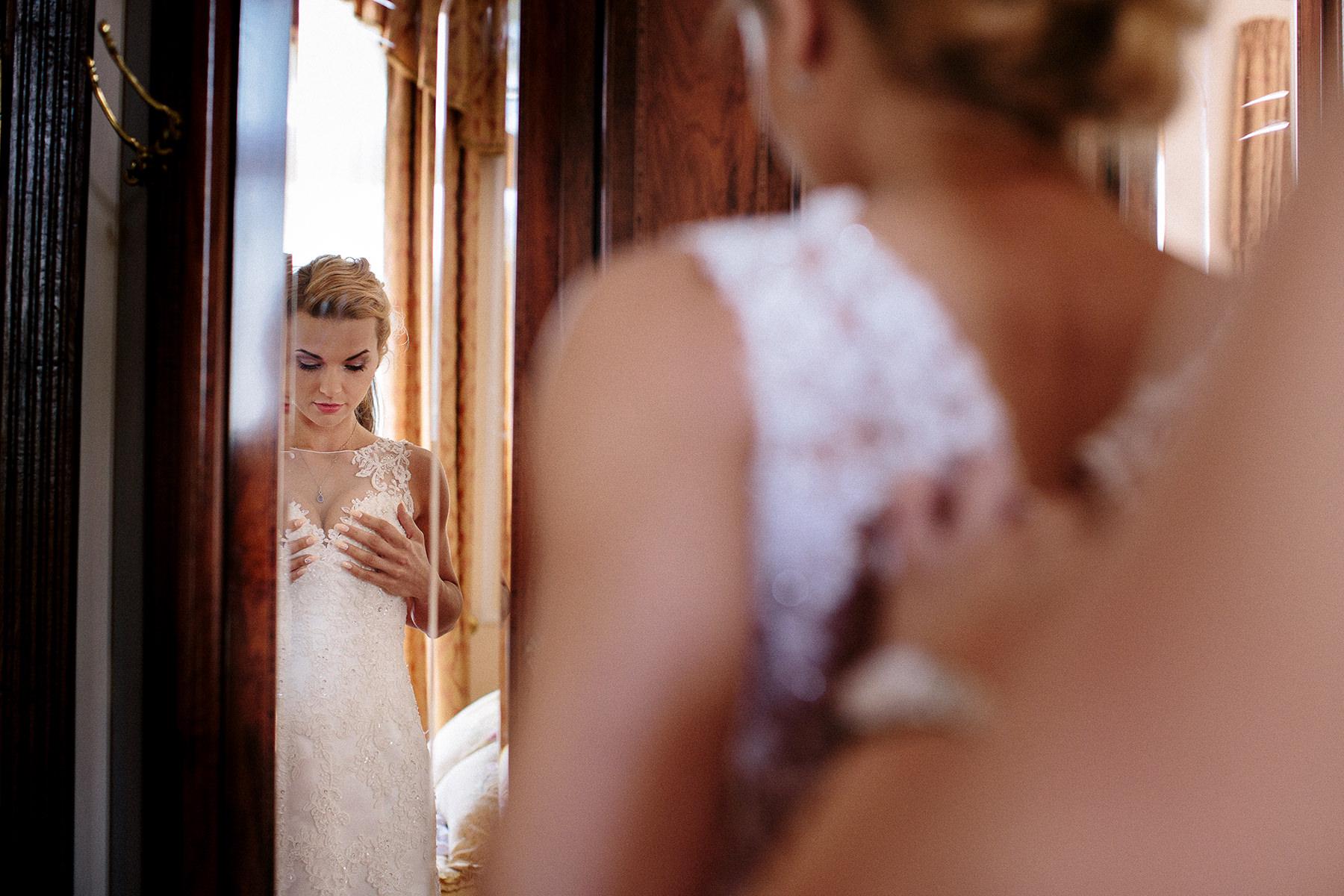 Suknia ślubna ślub w strzekęcinie