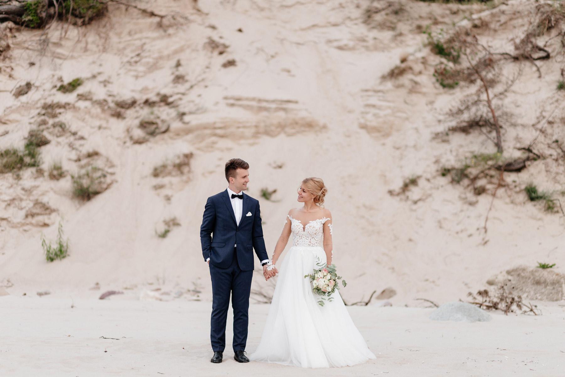ślub nad morzem, fotograf ślubny świnoujście