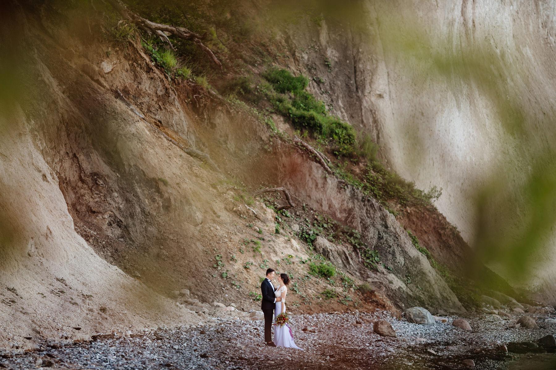 rugia zdjęcia, ślub nad morzem