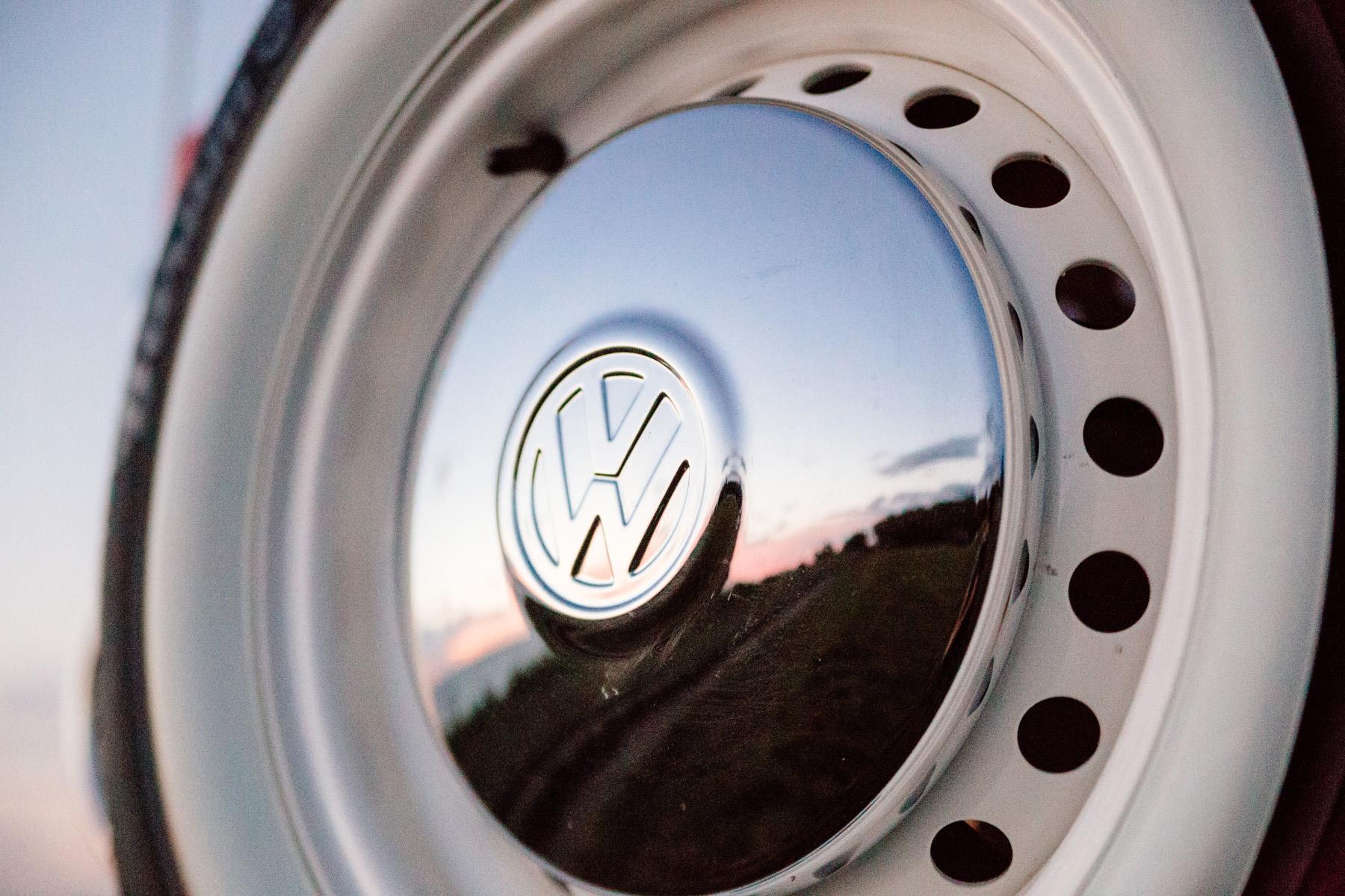 VW T2 koło chrom