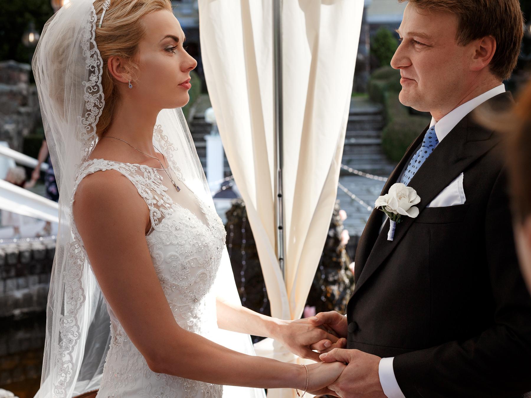 Ślub plenerowy Bursztonowy Pałac Strzekęcin