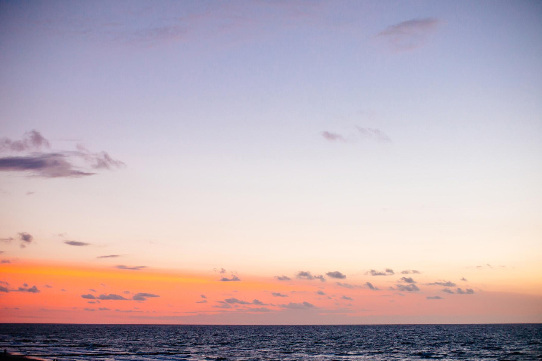 sesja przy zachodzie słońca