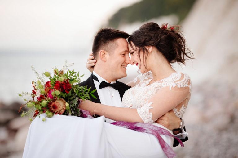 ceremonia ślub nad morzem