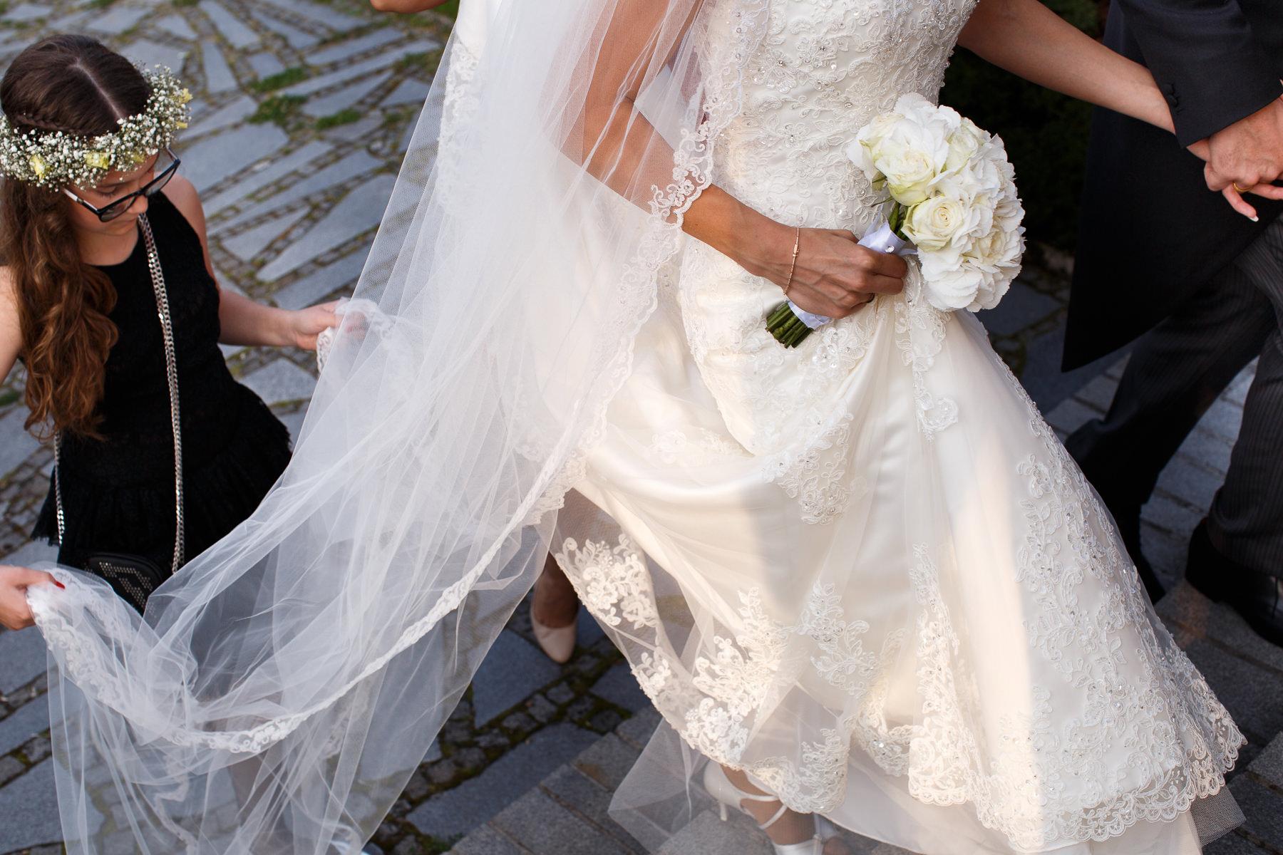 Po ceremonii ślubu w Pałacu
