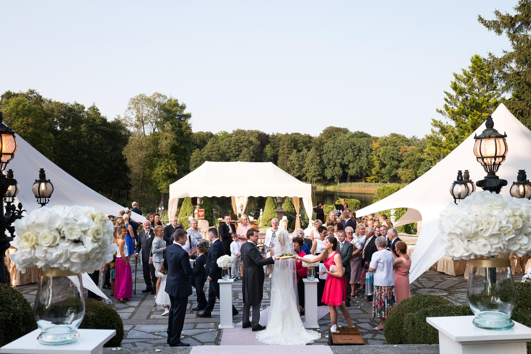 Pałac w Strzekęcinie ślub