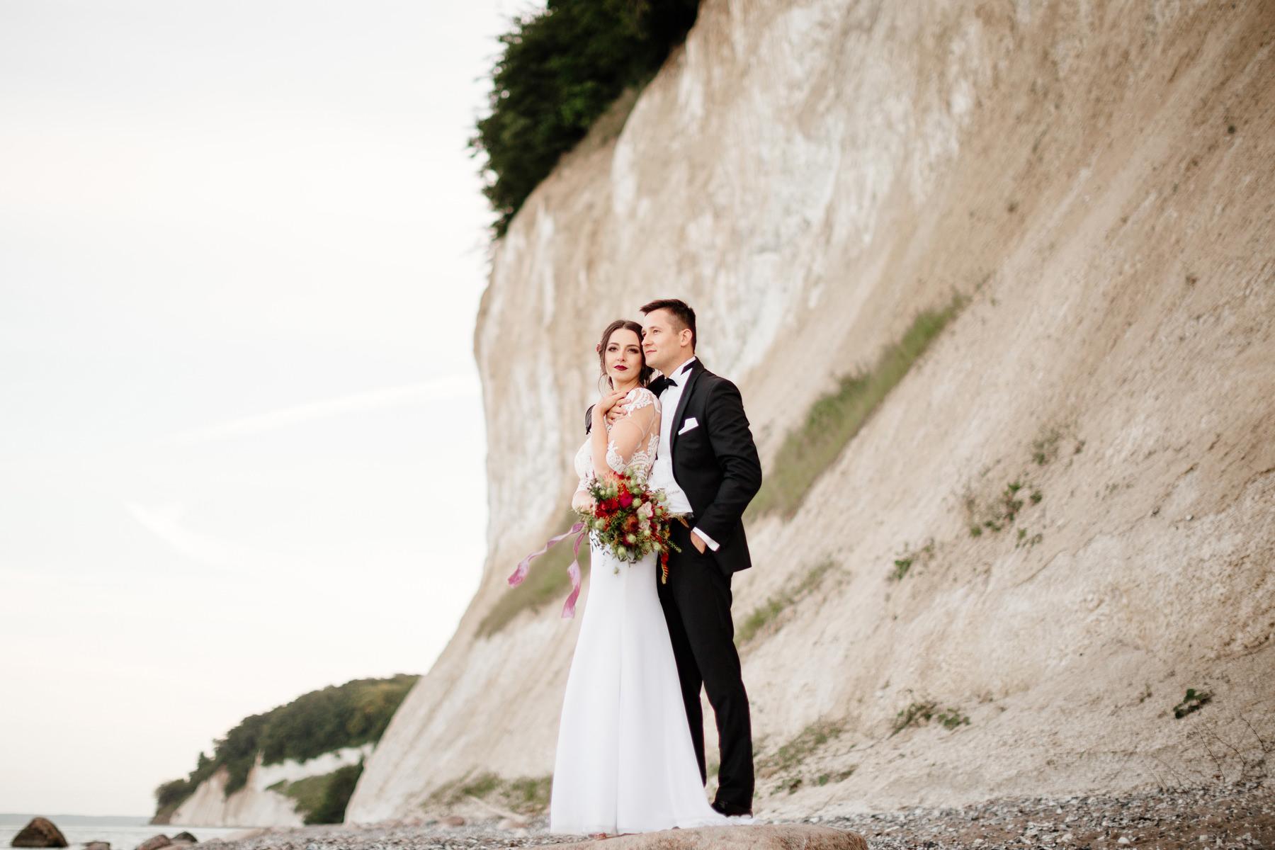 sesja ślubna na rugii