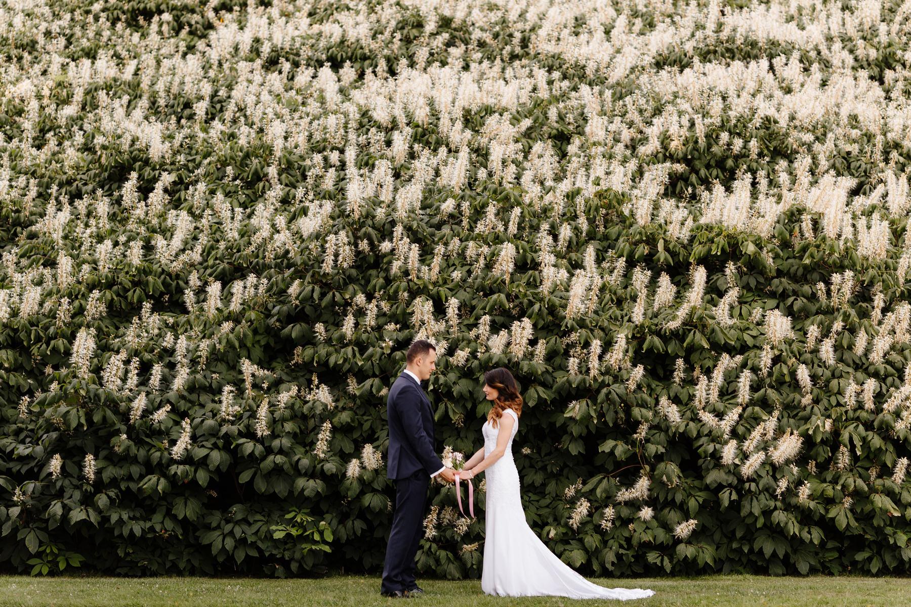 park mużakowski sesja ślubna