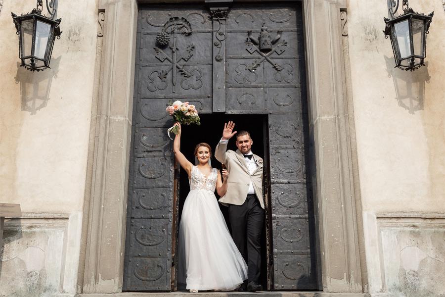 opactwo benedyktynów w tyńcu - ślub