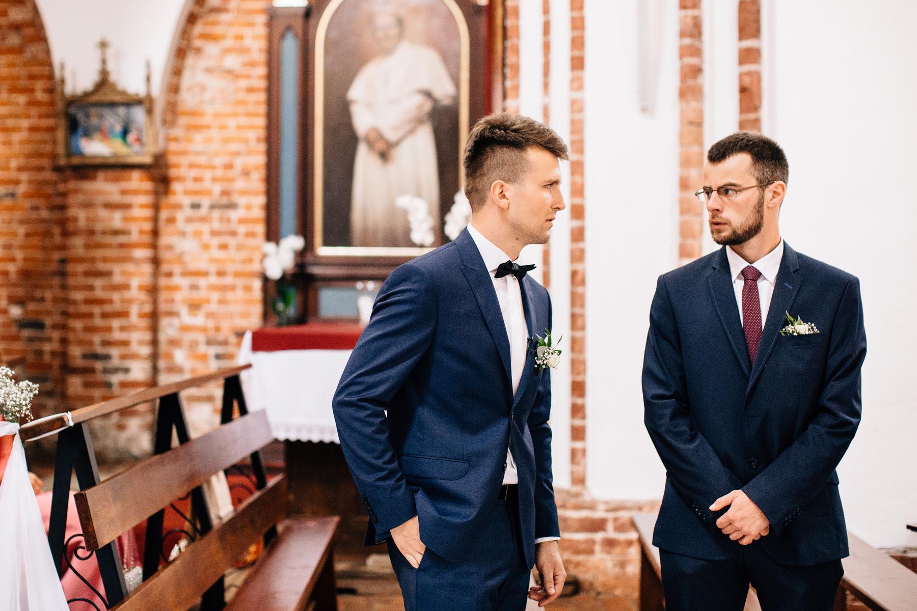 ślub kościelny w katedrze