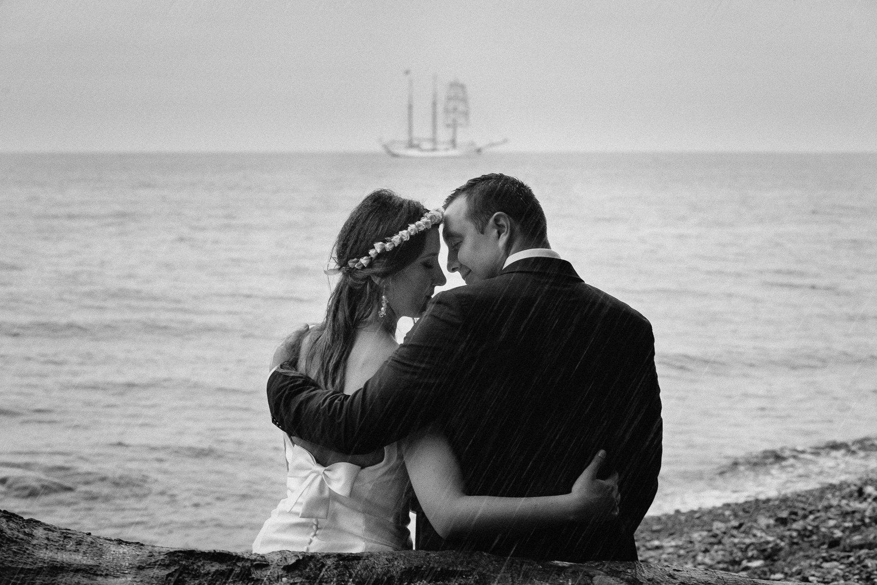 ślub nad morzem inspiracje