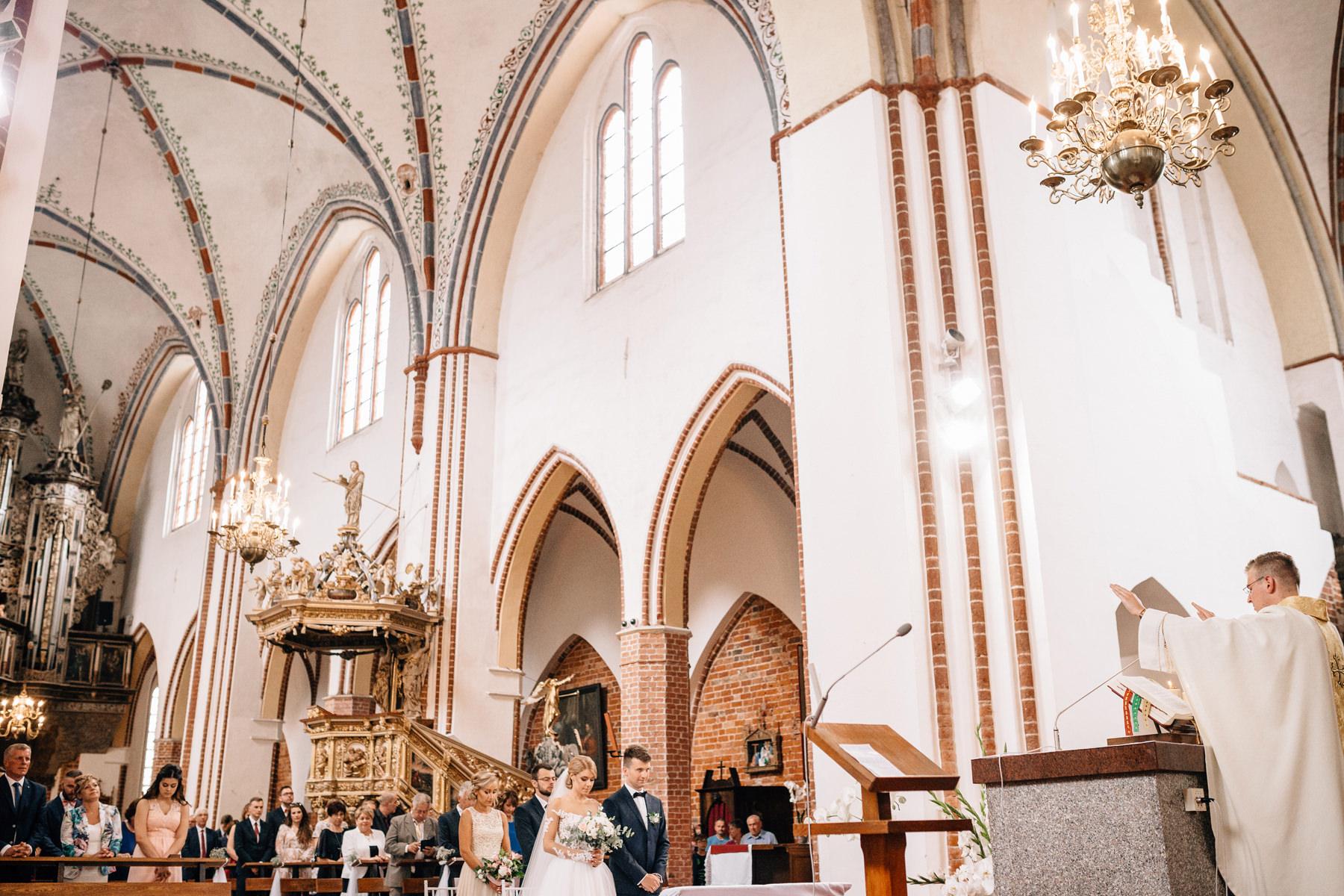 ślub w katedrze kamień pomorski