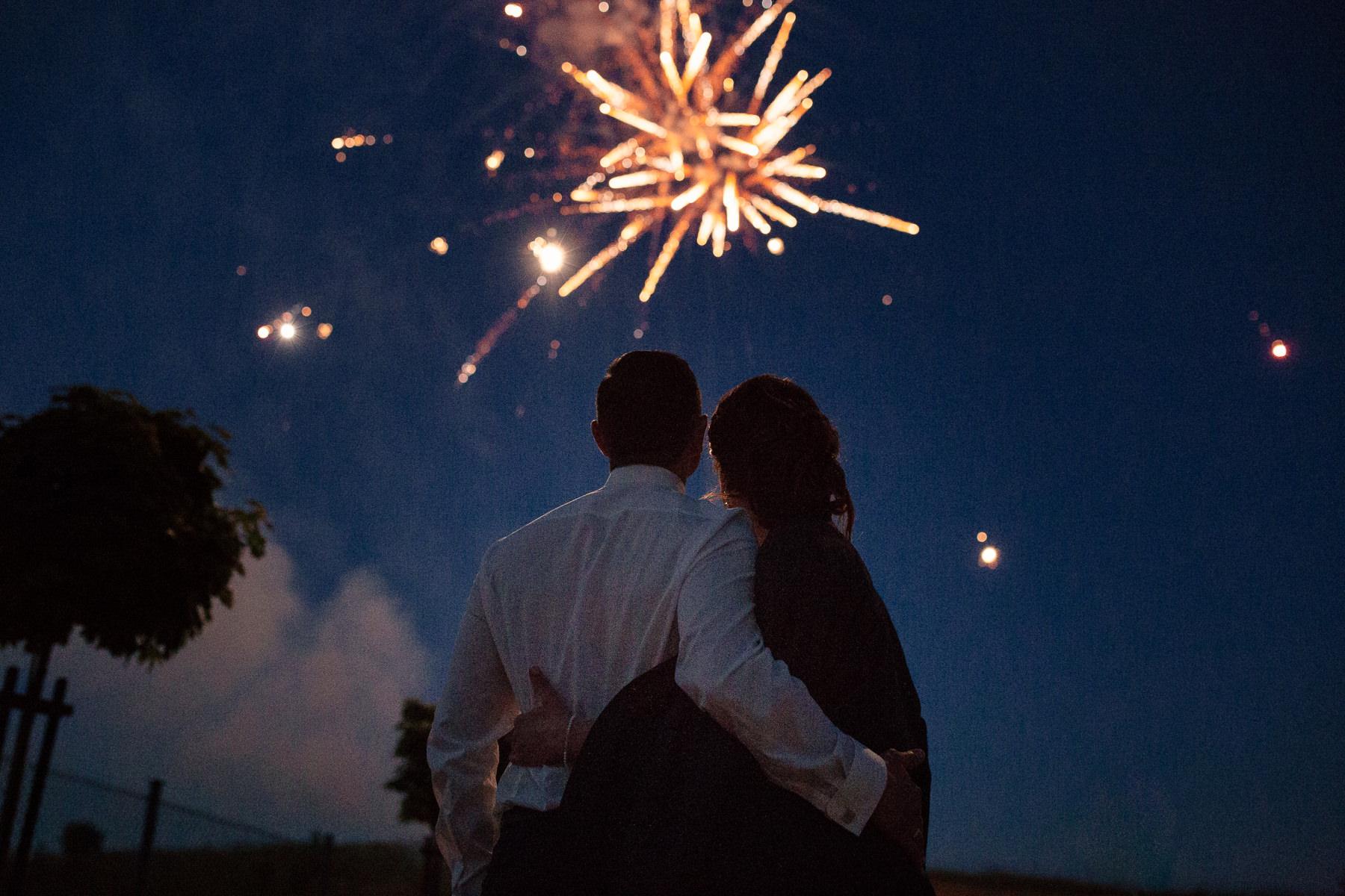 fajerwerki wesele szczecin