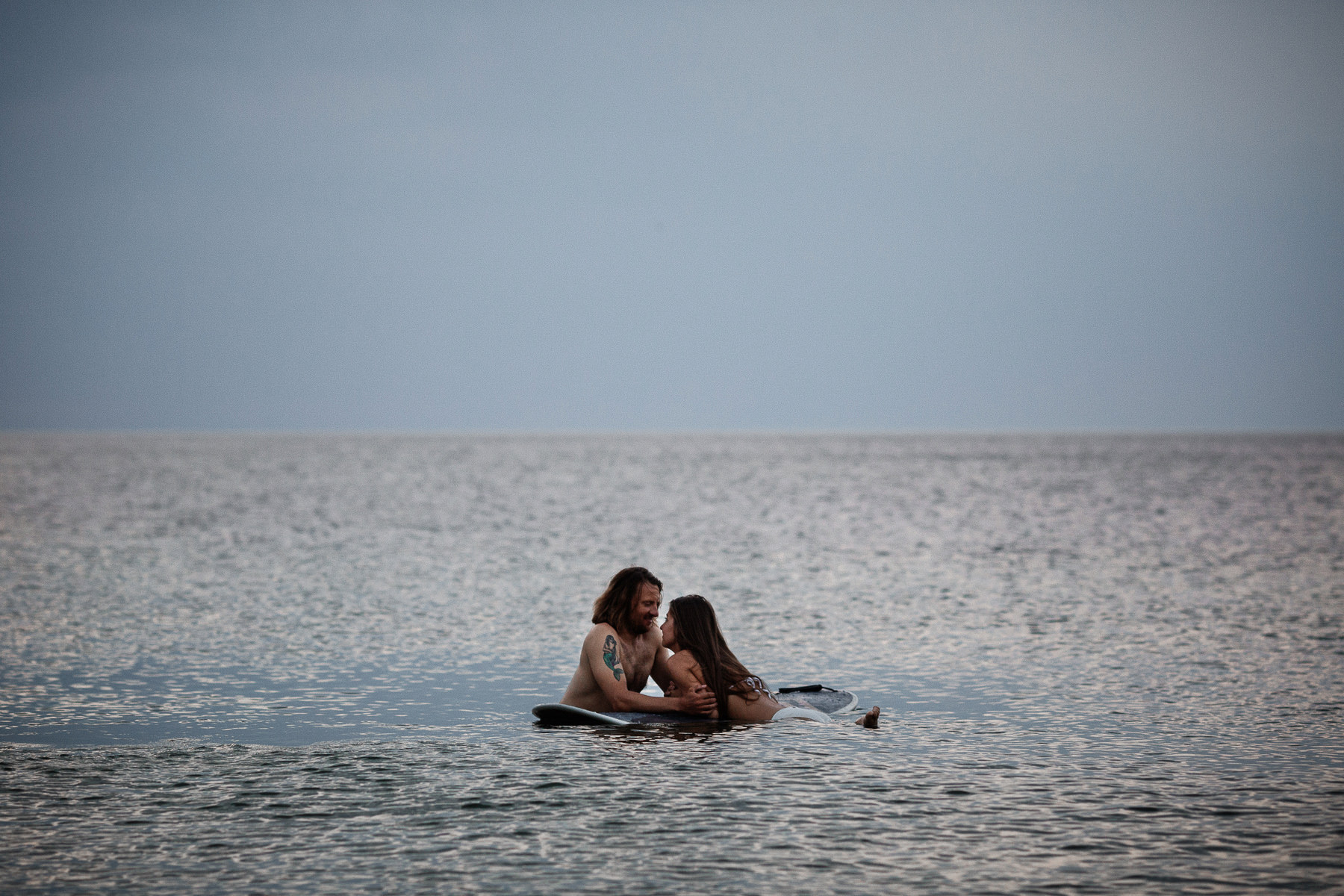 sesja zaręczynowa nad morzem