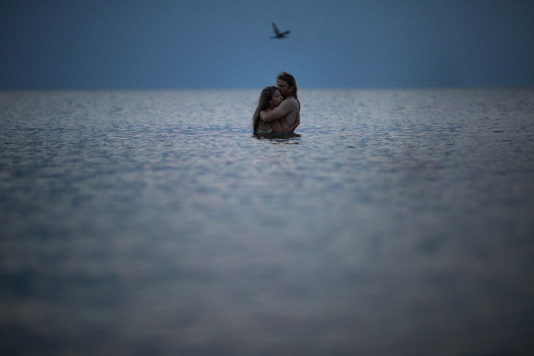 sesja narzeczeńska nad morzem kasia i tomek