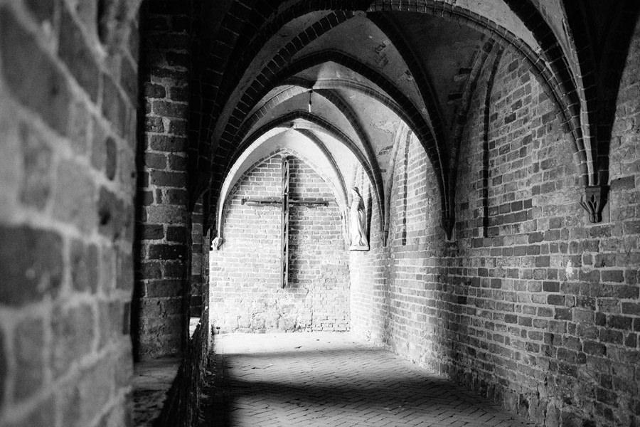 katedra kamień pomorski dziedziniec