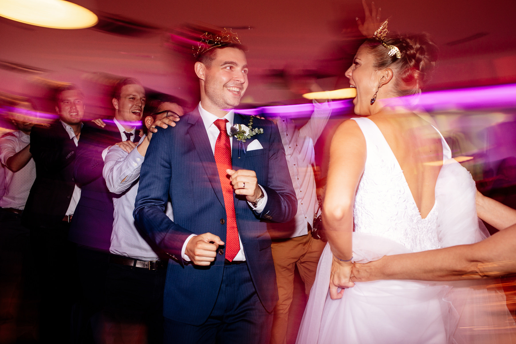 biała wstążka wesele kasia i tomek