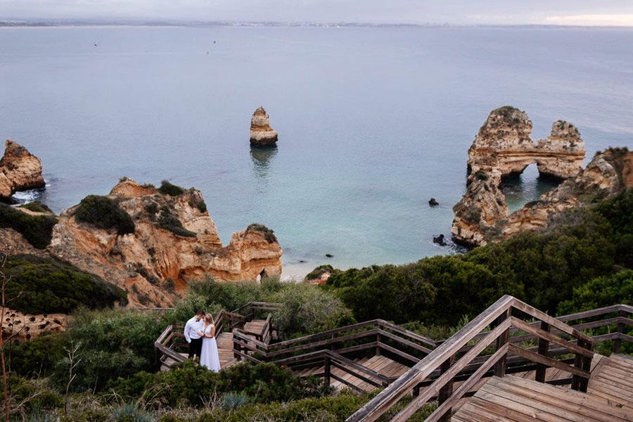 sesja ślubna w portugalii