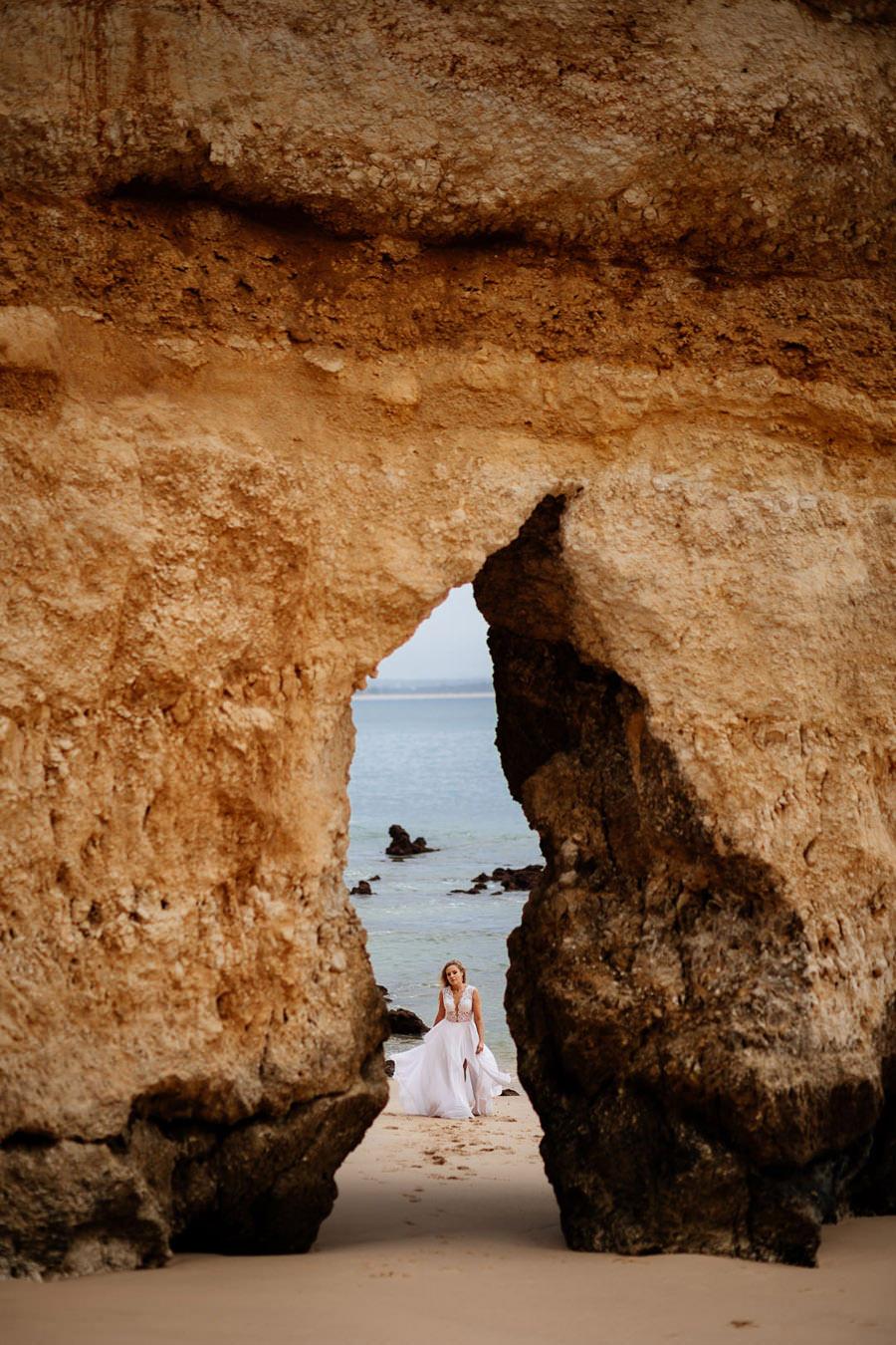 sesja w portugalii, algarve, ślub w portugalii, praia do camilo
