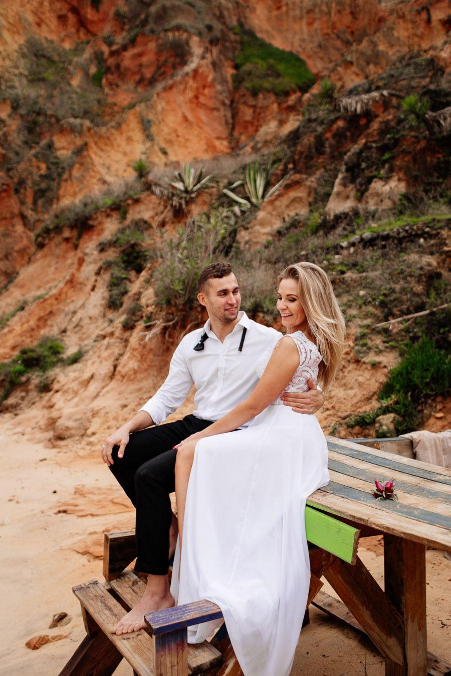 ślub na plaży, slow wedding na plaży