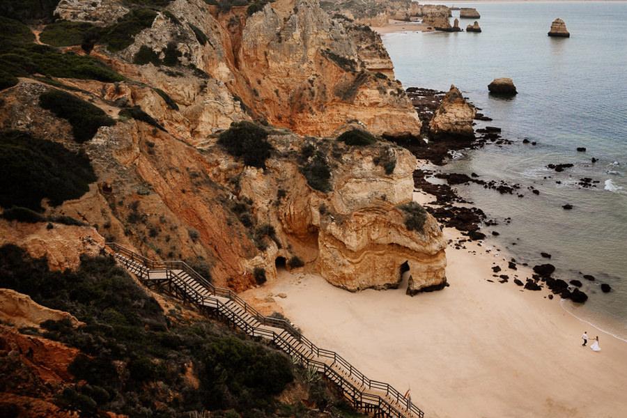 praia do camilo, ślub w portugalii