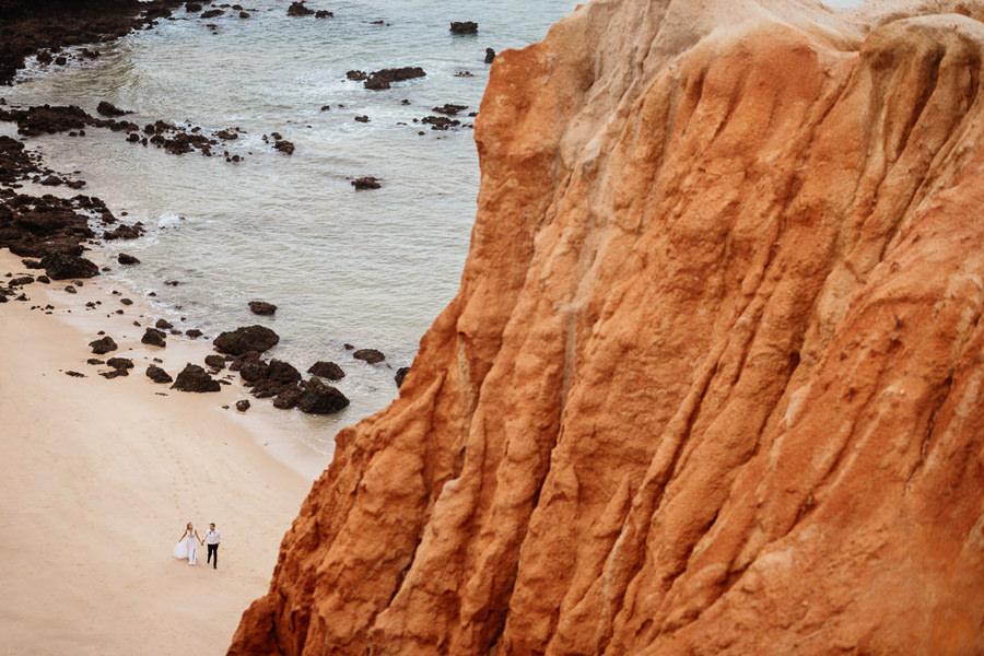 praia do camilo algarve, kasia i tomek fotografia