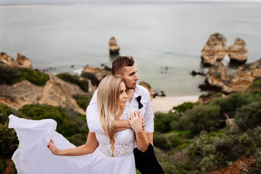 sesja ślubna w portugalii, kasia i tomek fotografia