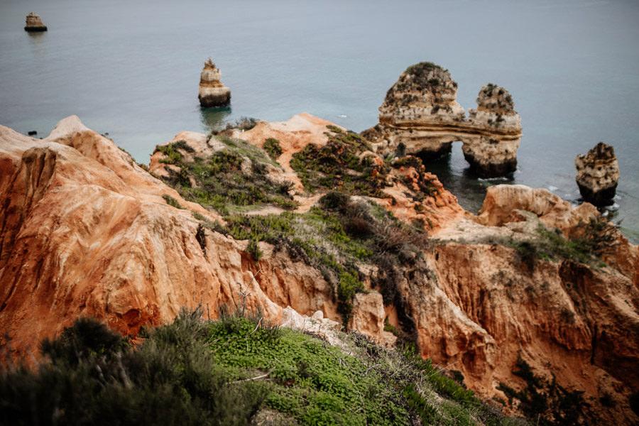 portugalia algarve lagos praia do camilo