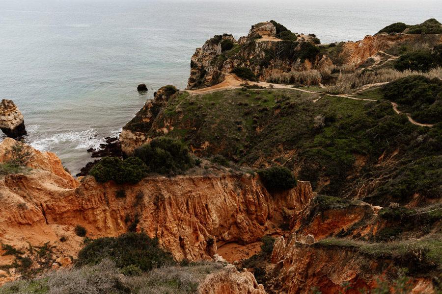 portugalia algarve lagos, praia do camilo
