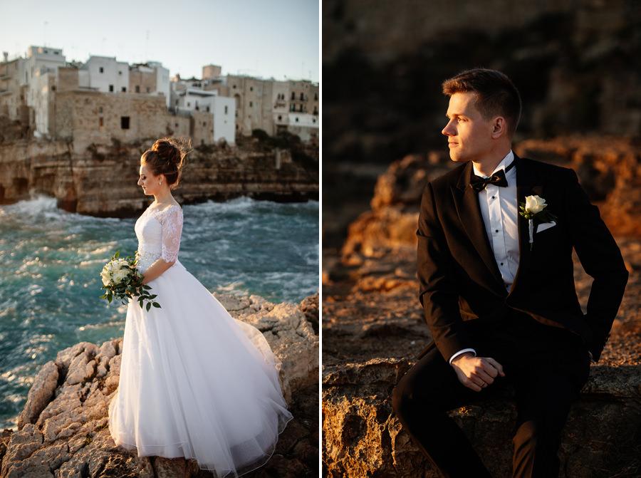 sesja ślubna we włoszech, Kasia i Tomek fotografia