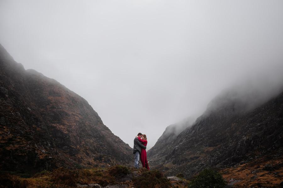 zimowa sesja w irlandii