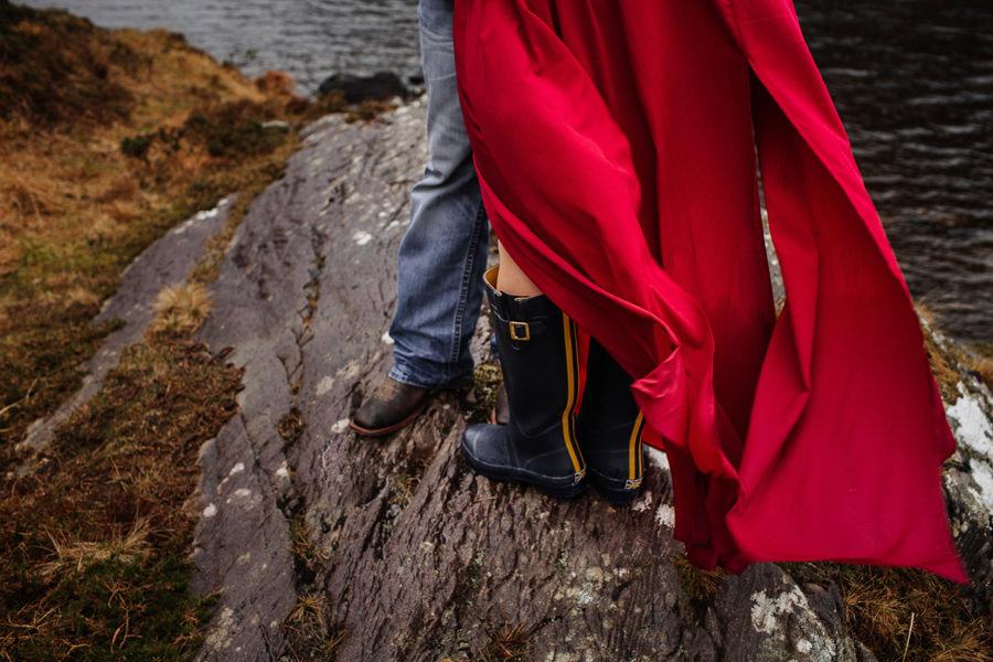 jaki strój na sesję w górach