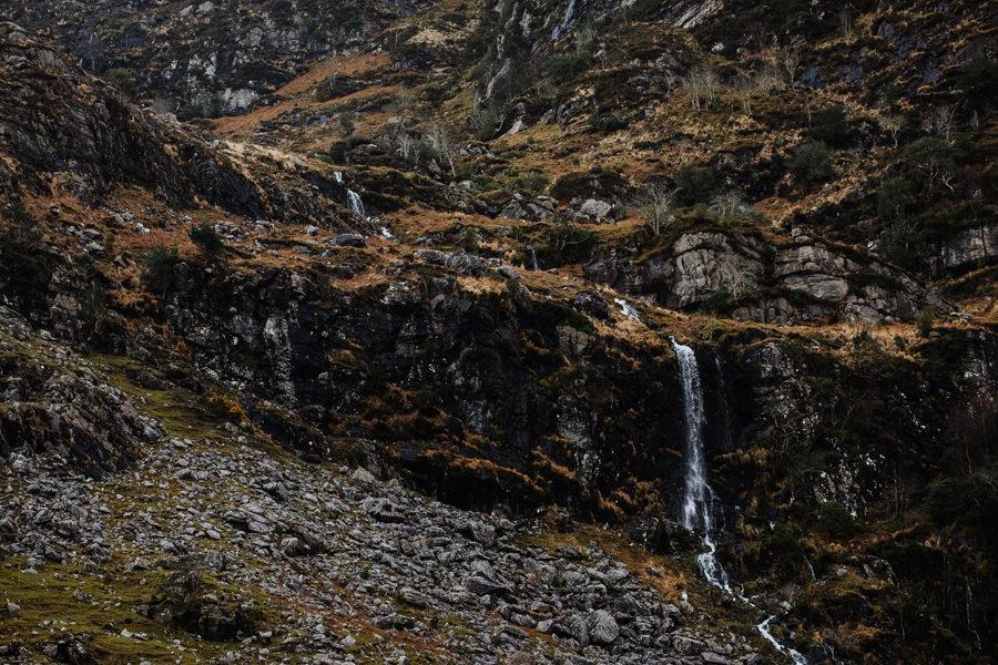 irlandia widoki, krajobrazy, wodospady, gap of dunloe