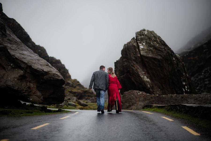 gap of dunloe irlandia sesja narzeczeńska ślubna