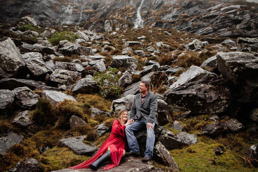 kasia i tomek fotografia sesja w irlandii