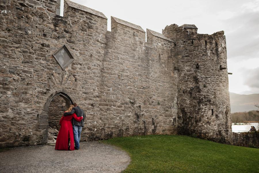 sesja w irlandii, zamek ross killarney