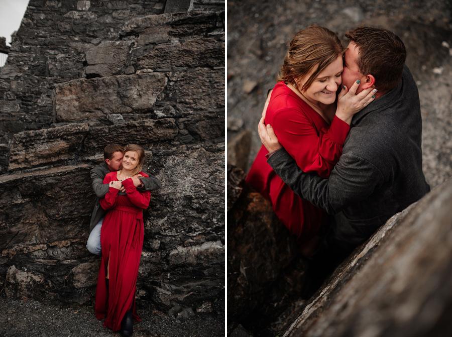 sesja na zamku w irlandii