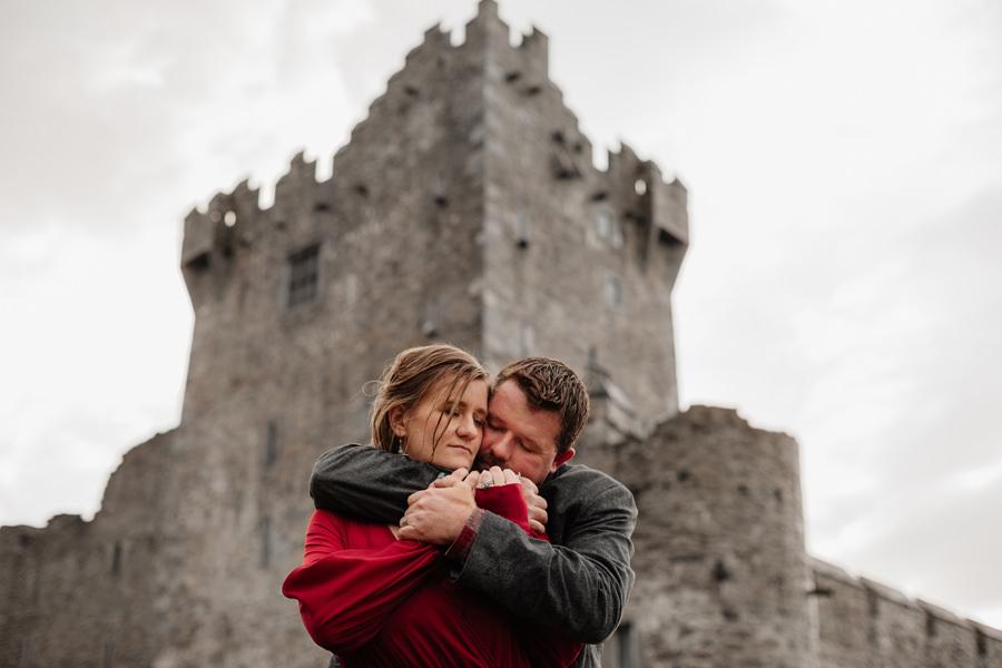 zamek ross killarney irlandia sesja ślubna