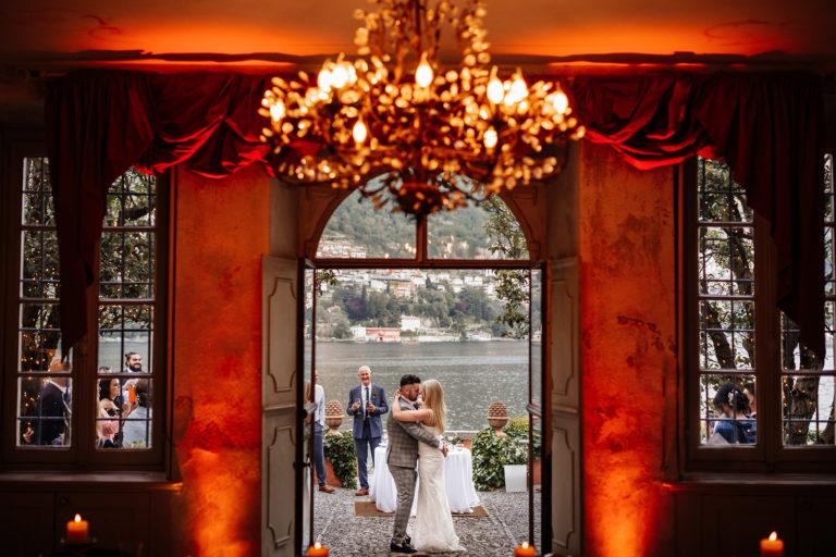 ślub we włoszech, ślub nad jeziorem como