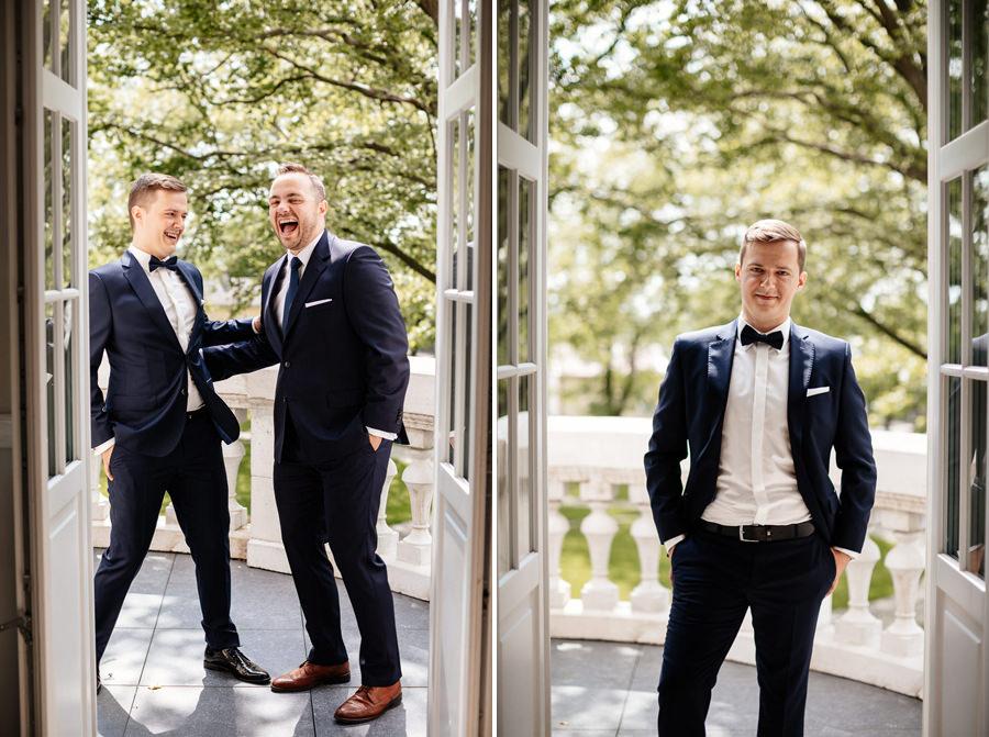 elegancki ślub w pałacu rajkowo