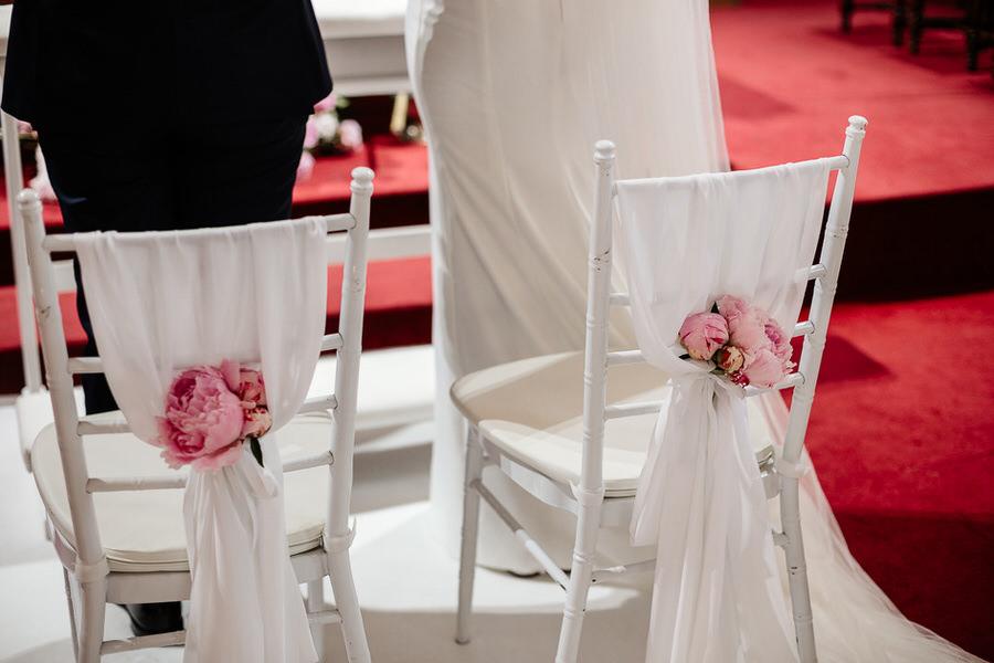 kwiecisty ślub dekoracje