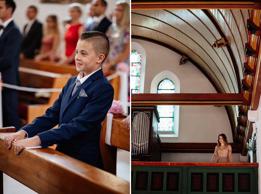 ślub w kościele goście
